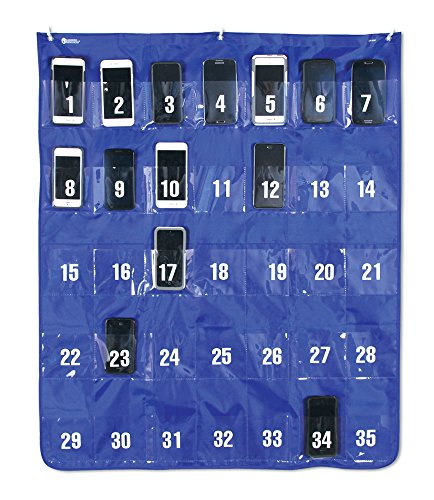 Learning Resources Cell Phone Stooge Chart, 35 Pocket (LER2267) (35 Pocket Chart compare prices)