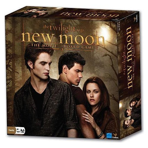 Collector's Twilight and New Moon The Movie Board Games