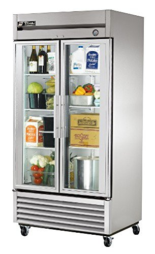 True Mfg T-35G, 2 Door, 35 cu ft Glass Door Refrigerator (Refrigerator Two Door compare prices)