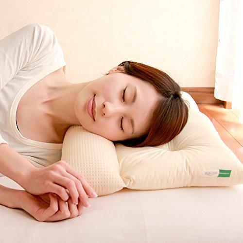 ストレートネック 枕 ネックフィット枕 まくら 43×63cm サイズ