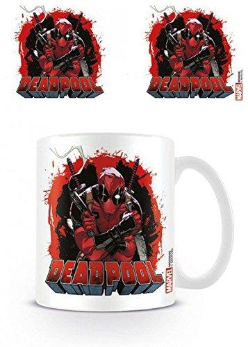 Deadpool - Smoking Gun Tazza Da Caffè Mug (9 x 8cm)