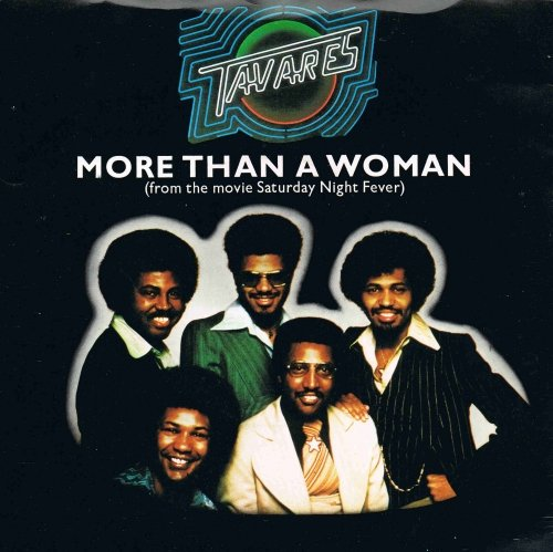 "TAVARES More Than a Woman UK 7"" 45 cover"