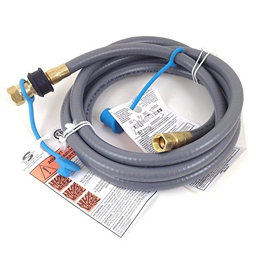 Weber #99263 10 Foot 3/8 Inch Natural Gas Hose Kit with 3/8 Quick Disconnect Fitting (Quick Disconnect Gas Hose compare prices)