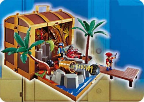 Playmobil Pirate Treasure Chest :  toys chest playmobil