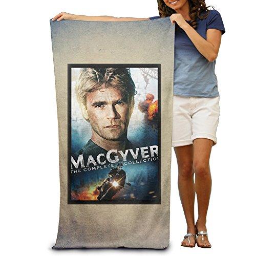 "MacGyver Movie Poster 31.5""*51"" Beach Towel"