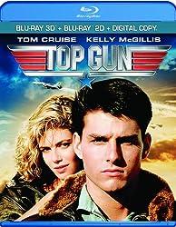 Top Gun 3D [Blu-ray 3D + Blu-ray + Digital Copy]