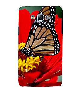 printtech Butterfly Flower Nature Back Case Cover for Samsung Galaxy Core Prime G360