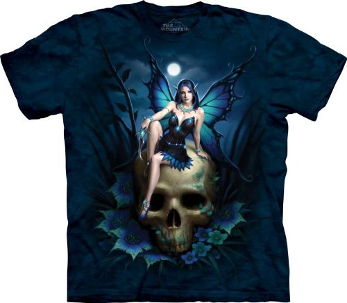 The Mountain Skull Fairy Adult Tee (Small) front-889719
