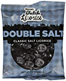 Gustafs Dutch Licorice, Double Salt, 5.2 Ounce (Pack of 12)