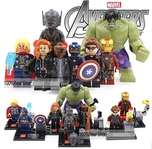Marvel The Avengers 2 Age of Ultron Action Mini Figures 8 pcs/sets #sy271-19