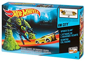 Hot Wheels City Spider Trap Trackset