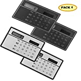 4 Pack J-so Solar energy card calculator,Money-Back Guarantee