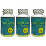 Alpha Hoodia: Best Diet Pill with Green Tea, Bitter Orange, Guarana, & More For Weight Loss - Fat Burner & Weight Control - 3 Bottles (90 Capsules) ~ Alpha Hoodia