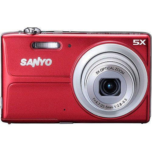 Sanyo 14MP Digital Camera w/ 5x Optical Zoom, 3