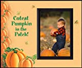 Cutest Pumpkin in the Patch Blk - Halloween Picture Frame Gift