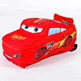 Disney Pixar Cars Kids Nylon Mini Bag Backpack Red