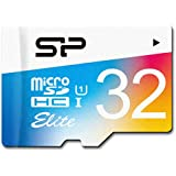 Silicon Power 32GB up to 85MB/s MicroSDHC UHS-1 Class10, Elite Flash Memory Card with Adaptor (SP032GBSTHBU1V20SP)