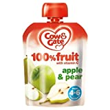 Cow Gate Baby Food 4 6 Months Apple Pear 80g Case of 6