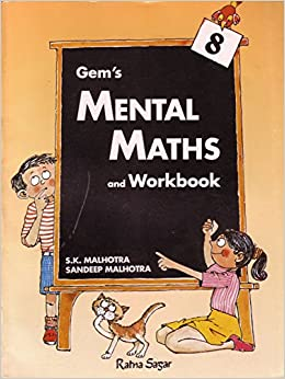 Gem's Mental Maths 8 price comparison at Flipkart, Amazon, Crossword, Uread, Bookadda, Landmark, Homeshop18