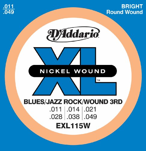 D'Addario EXL115 Nickel Wound Electric Guitar