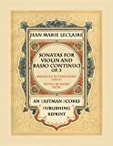 img - for Sonatas for Violin and Basso Continuo, Op. 5 book / textbook / text book