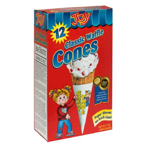 Buy Joy Ice Cream Cups, 12-Count Boxes of Cups (Pack of 12) (Joy Cone, Health & Personal Care, Products, Food & Snacks, Snacks Cookies & Candy, Snack Food)