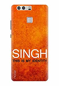 Noise Designer Printed Case / Cover for Huawei P9 / Quotes/Messages / Singh