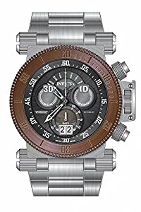 Invicta Men's 17618 Subaqua Quartz Multifunction Gunmetal Dial Watch