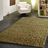 ~4 ft. X 6 ft. Shaggy HS Green Area Rug, Harmony Collection On Sale!