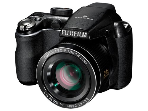 Fujifilm FinePix S3200 Digital Camera (14MP, 24x Optical Zoom) 3-inch LCD
