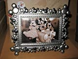 Mickey Ear Silver 4x6 Photo Frame