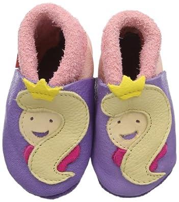 POLOLO Soft Leather Shoes Princess (Lilac/ Rosé, 6 - 9 Months)