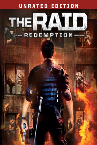 The Raid: Redemption Unrated (Directed by Gareth Evans) - Deep in the heart of Jakarta's slums lies a drug-gang?s safe house, home to some of the most terrifying and ruthless fighters in the city. Arriving before dawn an elite swat team moves in to take down the notorious drug lord that runs it. But when they receive news of ...