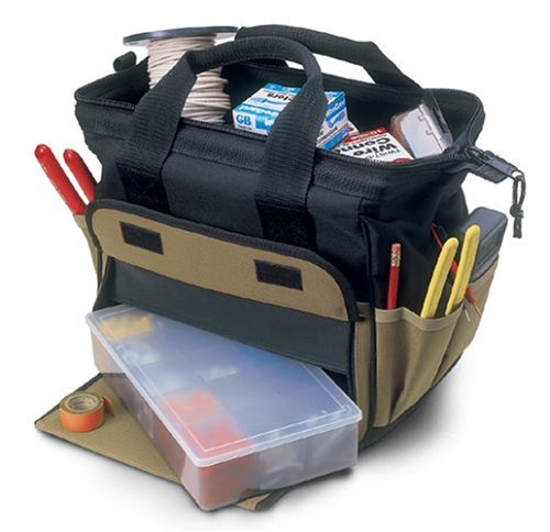 Images for Custom LeatherCraft 1137 12 Pocket TrayTote Bag