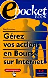 Le Web Book, gerez vos actions en bourse sur internet