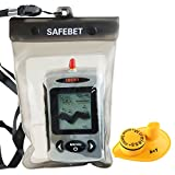 ucky Digital ffw-718 Kabelloser Fisch-Finder Sonar Radio Sea Bett Contour