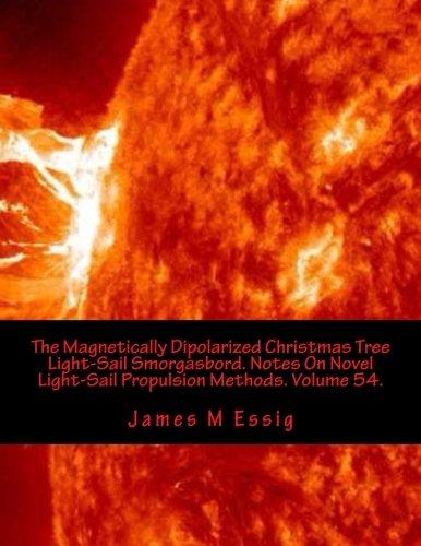 The Magnetically Dipolarized Christmas Tree Light-Sail Smorgasbord. Notes On Novel Light-Sail Propulsion Methods. Volume 54.