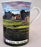St Andrews the 18th Hole Golf Fine Bone China Mug in Presentation Gift Box
