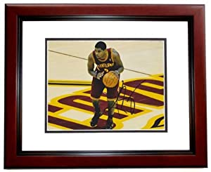 Kyrie Irving Autographed Hand Signed Cleveland Cavaliers 8x10 Photo - MAHOGANY CUSTOM... by Real+Deal+Memorabilia