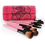En'da Professional 15 Kits Make Up Cosmetic Brushes Set Essential Brushes With Reptule Bag