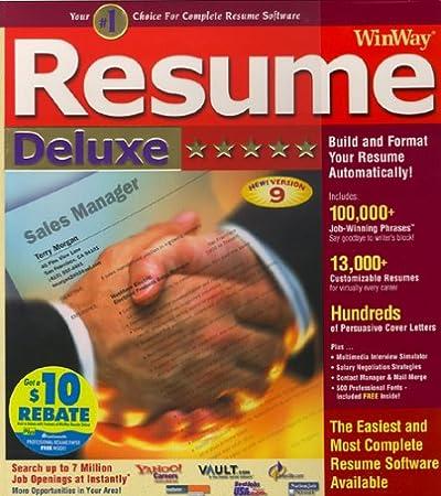 Winway Resume Deluxe