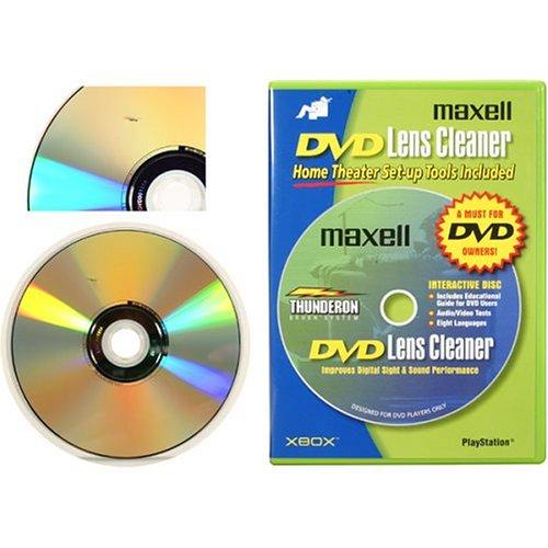 Maxell DVD-LC DVD Lens Cleaner (Blue)