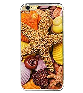 Star fish 2D Hard Polycarbonate Designer Back Case Cover for Apple iPhone 6s Plus :: Apple iPhone 6s+