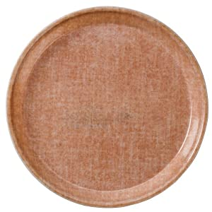 """Cambro Camtray 13"""" Round Tray, Linen Toffee (1300329) Category: Serving Platters and Trays"""