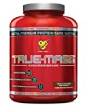 BSN TRUE-MASS - Chocolate Milkshake, 5.82 lb (16 Servings)