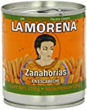 MexGrocer La Morena Zanahorias En Escabeche Carrots 200 g (Pack of 3)