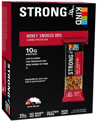 Strong & Kind Honey Smoked Bbq, 12 Count