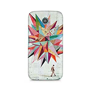 Mobicture Pattern Premium Printed Case For Moto G