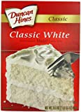 Duncan Hines White Cake Mix 468 g (Pack of 6)
