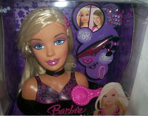 Barbie Totally Hair Styling Head | Toys